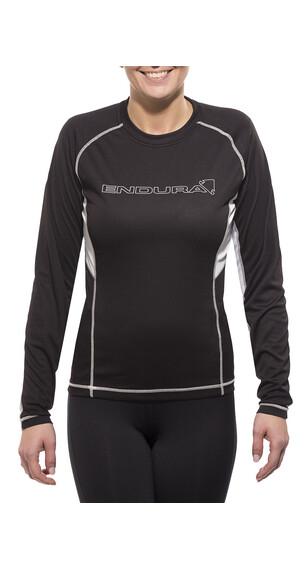 Endura Pulse T-Shirt Langarm Damen Schwarz